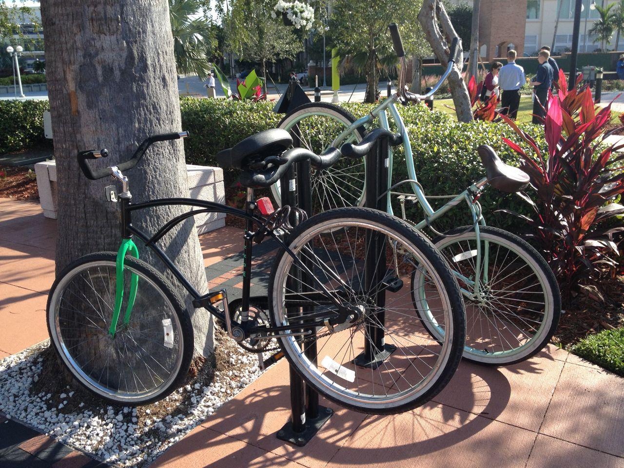 City Of Tampa Parking Bike Rack