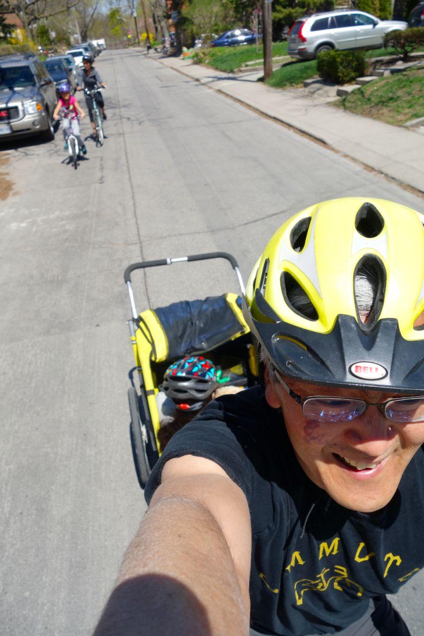 Sunday in High Park with sakura (May 11, 2014)   Biking in a Big City
